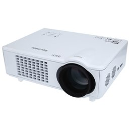 Wholesale High Definition Media Player - Wholesale-High Definition Convenient Operate Youkatu T928 Home Theater LCD Projector 3000LM 1280 x 768 Pixels FHD 1080P Media Player