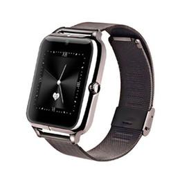 2019 support intelligent compatible apple ios montres intelligentes Z50 supportent les bretelles métalliques en métal de la carte SIM pour appareil photo Bluetooth montres intelligentes compatibles avec IOS et Android promotion support intelligent compatible apple ios
