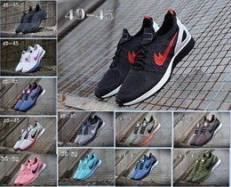 Wholesale light brown weave - Air Zoom Mariah Fly Racer 2 Women Mens Athletic all black red green Running Shoes weaving AIR Zoom Racer Sneaker Trainers Size 36-45