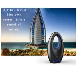 Wholesale Speakers Usb M2 - Free Shipping M2 Outdoor Smart Stereo Sailboat Shape Subwoofer Speaker Support Micro-SD FM Radio Aux-in Handsfree Call