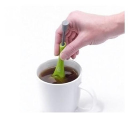 Wholesale Press Measure - Good Quality Healthy Flavor Total Tea Infuser Gadget Measure Swirl Steep Stir And Press Food Grade PlasticTea&Coffee Strainer