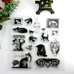 Wholesale Free Rubber Stamps - Wholesale- animal world clear stamps silicone scrapbook rubber stamp scrapbooking stamps free shipping on sale