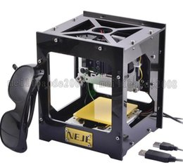 Wholesale Laser Engraver Cutter - NEJE 300mW USB DIY Laser Engraver Cutter Engraving Cutting Machine Laser Printer free shipping MYY