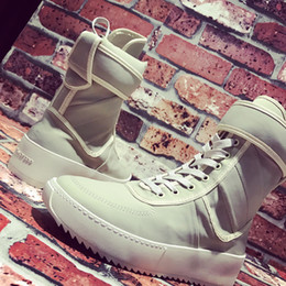 Wholesale Cowboy 45 - perfect quality arm boots God Military Snakers Men and women outdoor Long traveling boots thick platform Eu36-45 free shipping
