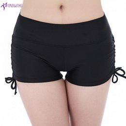 Wholesale Womens Fitness Wholesale Clothes - New women yoga shorts fitness sport running quick dry shorts femme gym training womens slim clothing pantalones cortos mujer wholesale