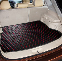 Wholesale Chevrolet Car Seat Covers - Car trunk mat specially made for Chevrolet Cruze Malibu full cover car-styling tray carpet cargo liners anti slip pertray carpet cargo liner