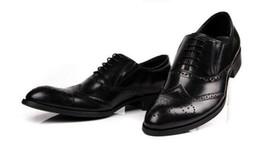zapatos personalizados hombres oxford Rebajas Hombres Zapatos de vestir Oxford Punta redonda Zapatos de hombre Zapatos hechos a mano personalizados Piel de becerro genuina Color split Pata de ala brogue