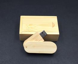 boîtier mémoire flash usb Promotion Mini clés USB en bois 4G 8G 16G 32G USB2.0 Memory Sticks Customed Logo Flash Drives pour cadeau sans boîte