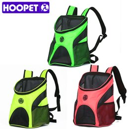 Wholesale fashionable totes - HOOPET Carrying Cat Puppy Dog Pet Carrier Fashionable Breathable Comfort Shoulder Backpack
