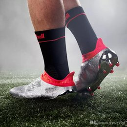 Wholesale Mens Winter Boots Free Shipping - 2017 Discount Wholesale X 16+ Purechaos FG AG Soccer Shoes Men Soccer Cleats New Football Shoes Mens Soccer Boots Free Shipping Size 39-45