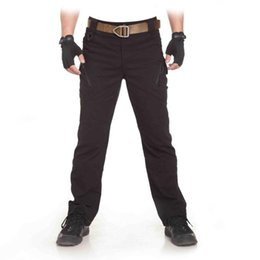Wholesale Wholesale Combat Trousers - TAD IX9 Militar Tactical Cargo Outdoor Pants Men Combat SWAT Army Training Military Pants Hunting Outdoors Sport Trousers
