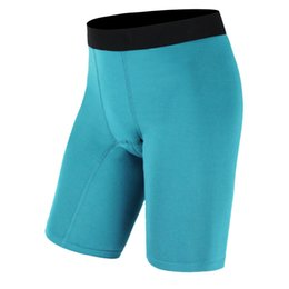 Wholesale Tight Fitting Underwear - New Brand Underwear Running Shorts Mens Compression Shorts Sport Tight Dry Fit Cycling Basketball Fitness Gym Running Shorts Plus Size 6008