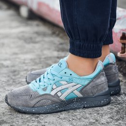 Wholesale Woman Boots Brown - 2017 Asics Gel Lyte V H60RK-1189 Men Shoes Women Running Shoes H5U1N-9001 Multicolor Lightweight Online Boots Basketball Sneakers Shoes