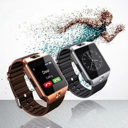 apple new smartwatch Скидка Новые смарт-часы dz09 с камерой Bluetooth наручные часы SIM-карты Smartwatch для Apple Samsung Ios Android телефоны поддержка нескольких языков
