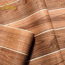 Пвх виниловые конструкции для стен онлайн-Старинные природа древесного волокна ПВХ водонепроницаемый 3D современный дизайн виниловые обои настенные покрытия для гостиной Декор настенной росписи обои