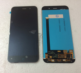 Wholesale Replacement Touch Screen Panel Zte - DHL Free Shipping For ZTE V6 LCD Display With Touch Screen Digitizer Assembly Original Replacement Parts For ZTE Mobile Phone