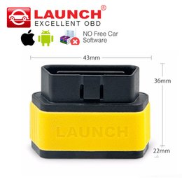 Wholesale Online Audi - Launch easydiag 2.0 Android iOS 2 in 1 auto diagnostic tool X431 Easy diag OBD2 code reader Update online better than ELM327