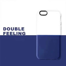 Wholesale Case Personalize - For iPhone7   6S Personalized Creative TPU + PC Hard and Soft Combination with Retail Bag Free Shipping