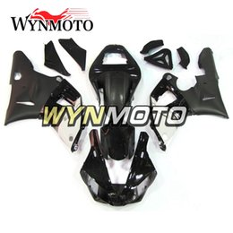 Wholesale Yzf Cowling - Black White Fairings For Yamaha YZF R1 2000 2001 Injection ABS Motorcycle Cowlings Motorbike Fairing Kit Body Frames Covers