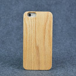 Wholesale Crafts Wholesale For Phone Cases - Wood Grain Craft TPU phone back cover for samsung s6 solid red oak wood for iphone 6  6s case