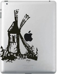Wholesale Ipad Mini Decals - Hot Originality Cartoon-13 series Vinyl Tablet PC Decal Black Sticker Skin for Apple iPad 1  2   3   4   Mini Laptop Skins Sticker