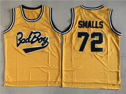 Wholesale Shirt Small - Biggie Smalls Bad Boy Basketball Jerseys Bad Boy Basketball Jersey Tune Squad Black Stitched Alien Moives Basketball Shirts Mens Cheap S-XXL