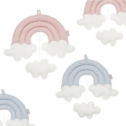 INS New Rainbow Clouds Ornements Lit Rideau Accessoires Enfants Chambre Suspendus Décoration Murale Photo Nordic Props ? partir de fabricateur