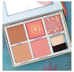 Wholesale Beat Retail - 2017 Cheek Parade Bestselling Blushes & Bronzers Beauty & The Beat Blush Kit 5.0g 5 Shades Retail Makeup Bronzers Blush Free Shipping