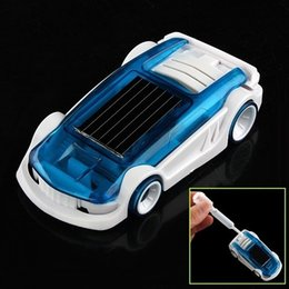 Wholesale Plastic Insects Toys - Green Energy Solar&Salt Water Hybrid Car mini Toys running car kid Car Solar energy Funny toys For Children Gift