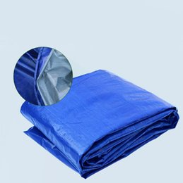 Wholesale Blue Awning - Tarp Multipurpose Cover Waterproof UV Awnings Resistant Blue Tent Cover Waterproof Tarpaulin Fix Outdoor free shipping