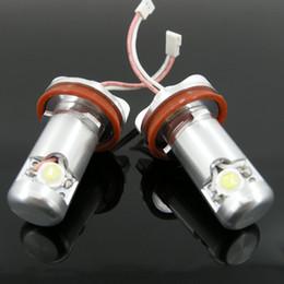 Wholesale Bmw E71 Led - NEW 2PCS LED Marker Angel Eyes Light 1\3\5\6\X Series E92 E93 E70 E71 E82 White