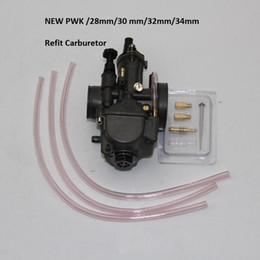 Wholesale Atv Carburetor - PWK  28mm 30 mm 32mm 34mm Wholesale ATV Racing Carburetor for FOR Honda KTM Motorcycle Quad Pit Dirt