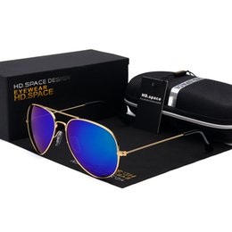 Wholesale Wholesale Coats For Men - Wholesale- Hot Aviation Polarized Sunglasses Men Ray Brand Design Classic Polaroid Women Sun Glasses For Male Driving Eyewear Coating 3025