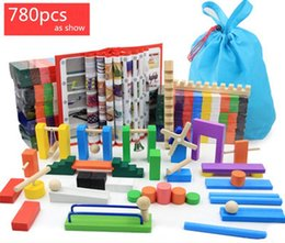 Wholesale Kids Toys Domino - Dominoes 780pcs domino | color International Standards Pine production |wooden toys kid toy free shipping