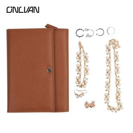 Wholesale High Quality Fashion Jewellery - High Quality Pu Leather Cosmetic Bags Onlvan Brand Design Jewellery Bag Solid Handbag Fashion Jewelry Case Professional Makeup Bag