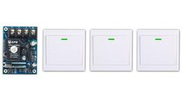 2019 relè ricevitore trasmettitore All'ingrosso-ultima DC12V 24V 36V 48V 1CH Remote Switch Receiver Wall Transmitter Interruttore di alimentazione senza fili 315MHZ Radio Controlled Switch Relay relè ricevitore trasmettitore economici