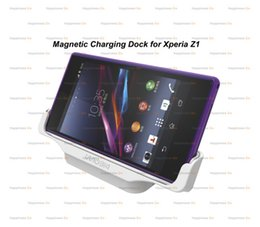 Wholesale Z1 Dock - Wholesale Magnetic Charging Dock Station Charger For Sony Z1 DK31 L39h