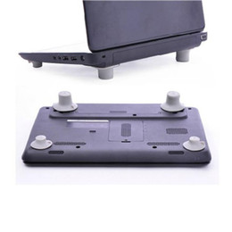 Wholesale Notebook Cooling Pad Price - Wholesale-Factory price Hot Selling 4pcs Notebook Accessory Laptop Heat Reduction Pad Cooling Feet Stand Holder Free Shipping