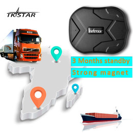 Wholesale Magnets China - TKSTAR TK905 GPS Locator waterproof IP66 vehicle GPS Tracker truck person 60 days long standby time powerful magnet lifetime free platform