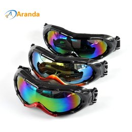 Wholesale Gafas Ski - Wholesale- snow ski goggles 8 colors sunglasses windproof goggle motocross lunette de ski homme gafas glasses outdoor windproof