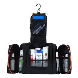 Wholesale Travel Kit Bags Men - Wholesale- 3 in 1 Men women cosmetic travel toilet shaving bag portable toiletry kit cosmetics cases makeup case organizer neceser Vanity