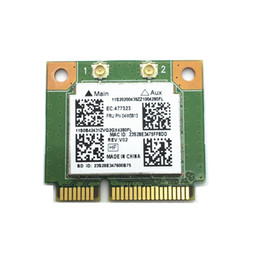 Wholesale n express - Wholesale- New For Realtek RTL8723BE 300M 802.11b g n Bluetooth 4.0 04W3813 MINI PCI Express Network Card for E540 E440 S440 S540
