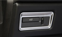 Wholesale Decals Switches - ABS Styling Car Rear Door Switch Decoration Frame Decal For Land Rover Range Rover Sport 2014-16 Auto Interior Accessories