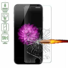 Wholesale Iphone 4s Proof Case - Front Explosion-Proof 9H 0.26mm 2.5D Tempered Glass for iPhone 5 5s SE 6 6s Plus 7 7 Plus 4 4s 5c Screen Protector Film Case Cover free ship