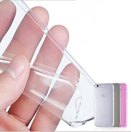 Wholesale iphone 4s clear silicone case - Free shipping new arrival 0.3mm Crystal Clear Soft Silicone Transparent TPU Case cover for iPhone 4 4S 5 5S 5C 6 6S 6 7 8 Plus X mobile case