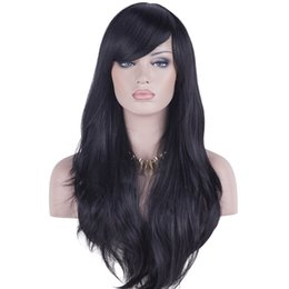 Wholesale Front Bangs - Peruvian Virgin Hair Lace Front Wig 8A Best Silky Straight Glueless Full Lace Human Hair Wigs With Baby Hairs With bangs