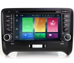 "Wholesale Audi Navi - 7"" 2G RAM Octa Core Android 6.0 Car DVD Multimedia For Audi TT 2006-2012 GPS Navi Stereo RDS WIFI 4G OBD DVR Mirror Screen BT 4.0 Phonebook"