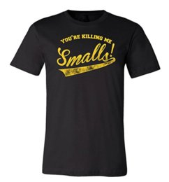 Wholesale Quotes Movies - Mens You're Killing Me Smalls 2017 Summer T-shirts 100% Cotton Short Sleeve Sandlot Baseball Movie Quote Humor Tee Shirt