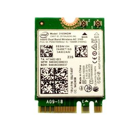 Wholesale Wifi Card Pcie - Wholesale- Intel 3165 2x2AC+BT4.0 PCIE M.2 WiFi Card For Lenovo Thinkpad E460 E560 B71 Yoga 310-11IAP Series FRU FRU:00JT497 SW10H24486