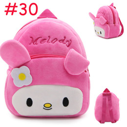Wholesale Cartoon Character Bags For Kids - 2017 Korean Cartoon Kids Plush Backpacks Animals Large Schoolbag Plush Backpack School Bags for Girls Boys Backpack 4-7 Years
